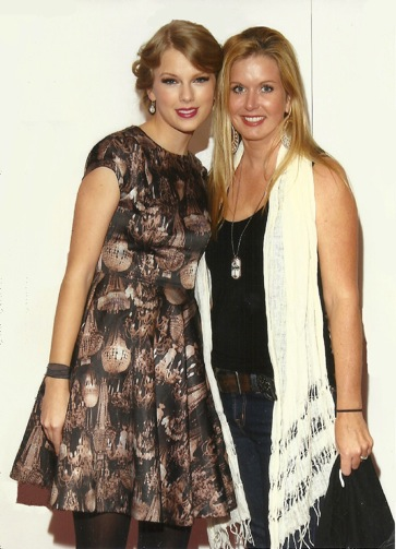 Katie Kalsi with Taylor Swift