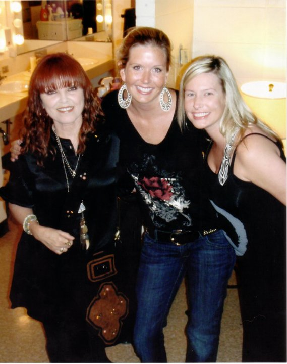 Katie Kalsi with Pat Benatar and Angie LaChapelle