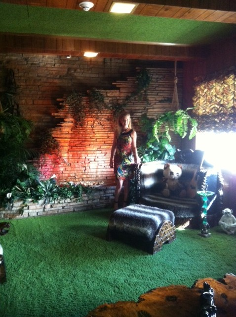 Katie Kalsi at Graceland for At Home Tennessee Magazine Photo Shoot